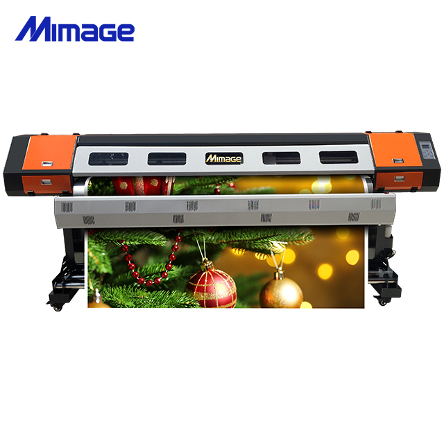 M22 2.2m Large Format Eco Solvent Printer with 2 pcs Epson DX5
